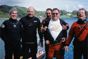 Ciub divers in the 90s